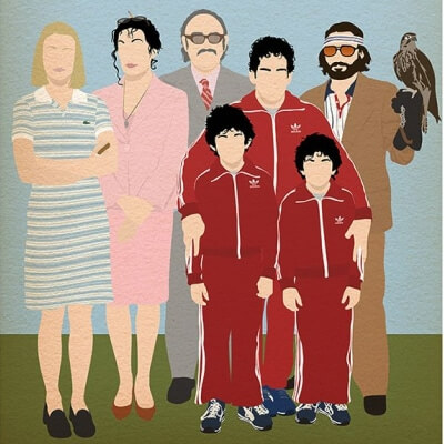 Streaming Post Template - The Royal Tenenbaums