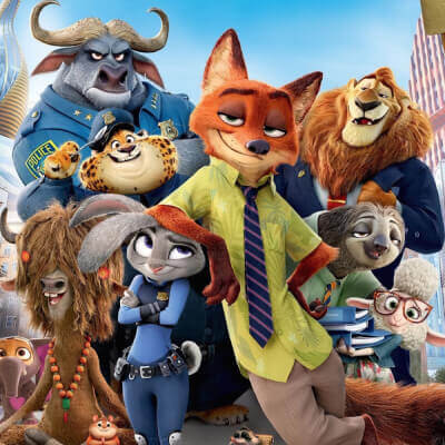 Streaming Post Template - Zootopia