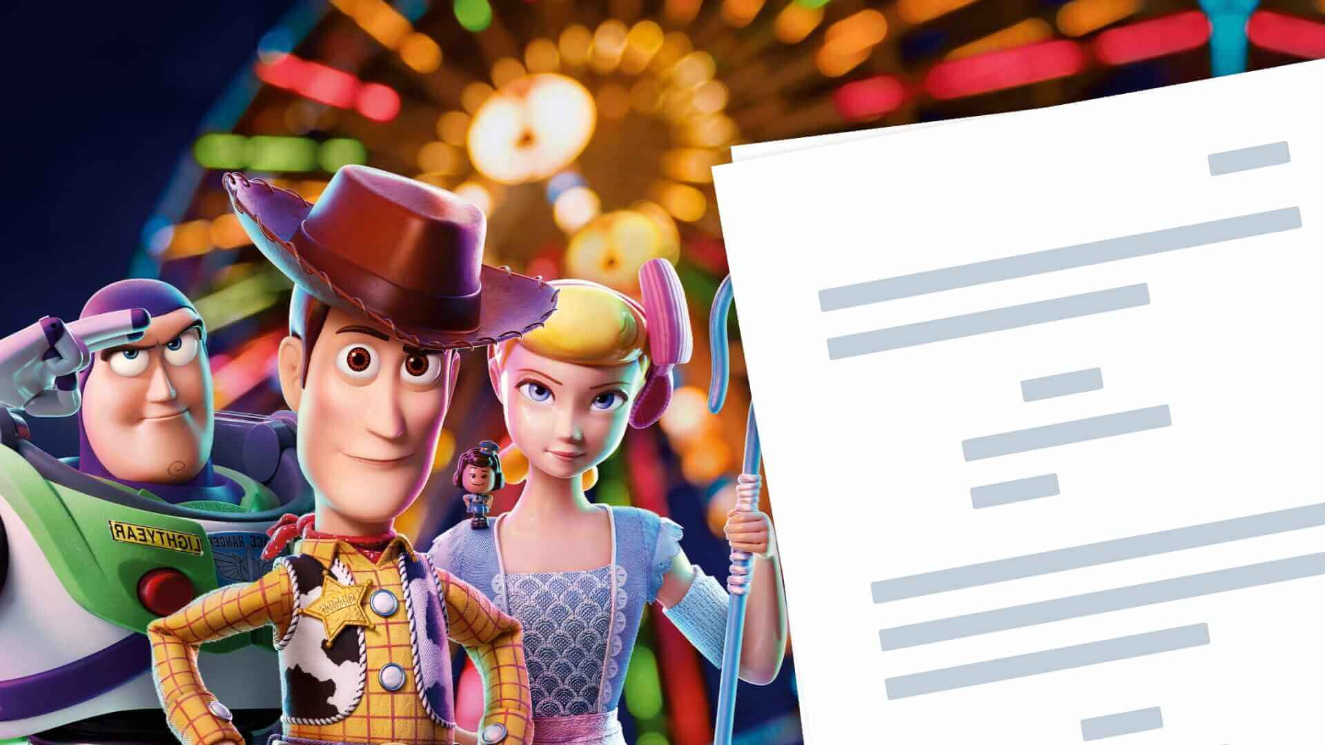 Toy Story 4 Script PDF Download Characters, Quotes, and Ending - Featured