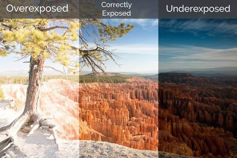 What is Overexposure - Overexposure vs Underexposure