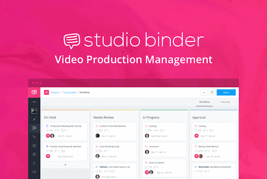 It's free to try StudioBinder. GET 25% OFF your first month with code SB25.