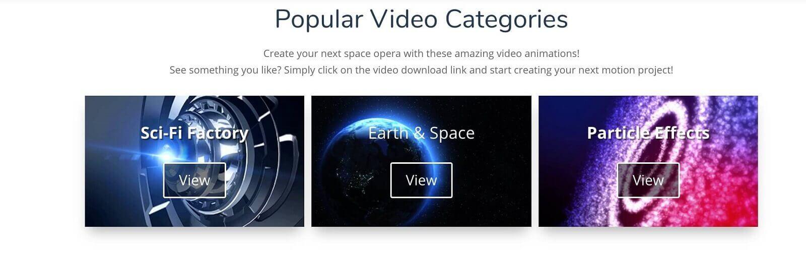 Best Green Screen Background Video - Popular Video Categories - Ignite Motion