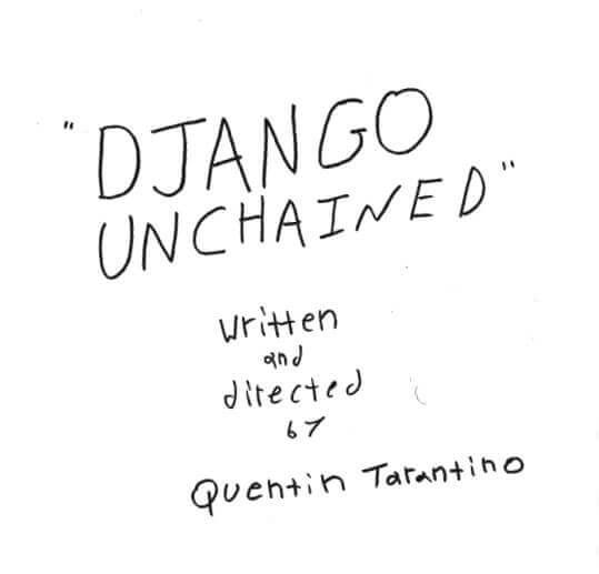 Django Unchained Script Teardown - Title Page