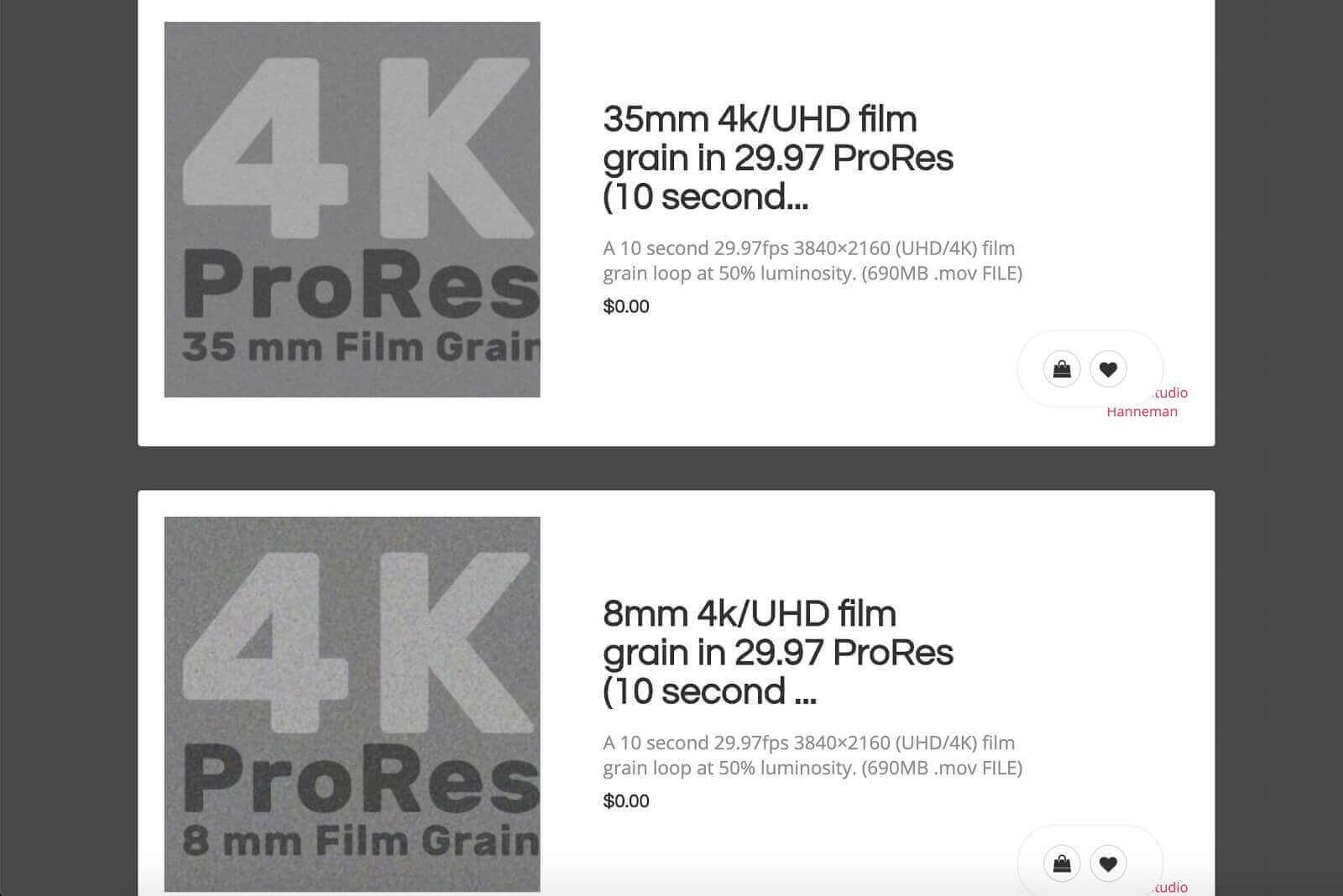 Free Film Grain Overlays - Resolver Tools