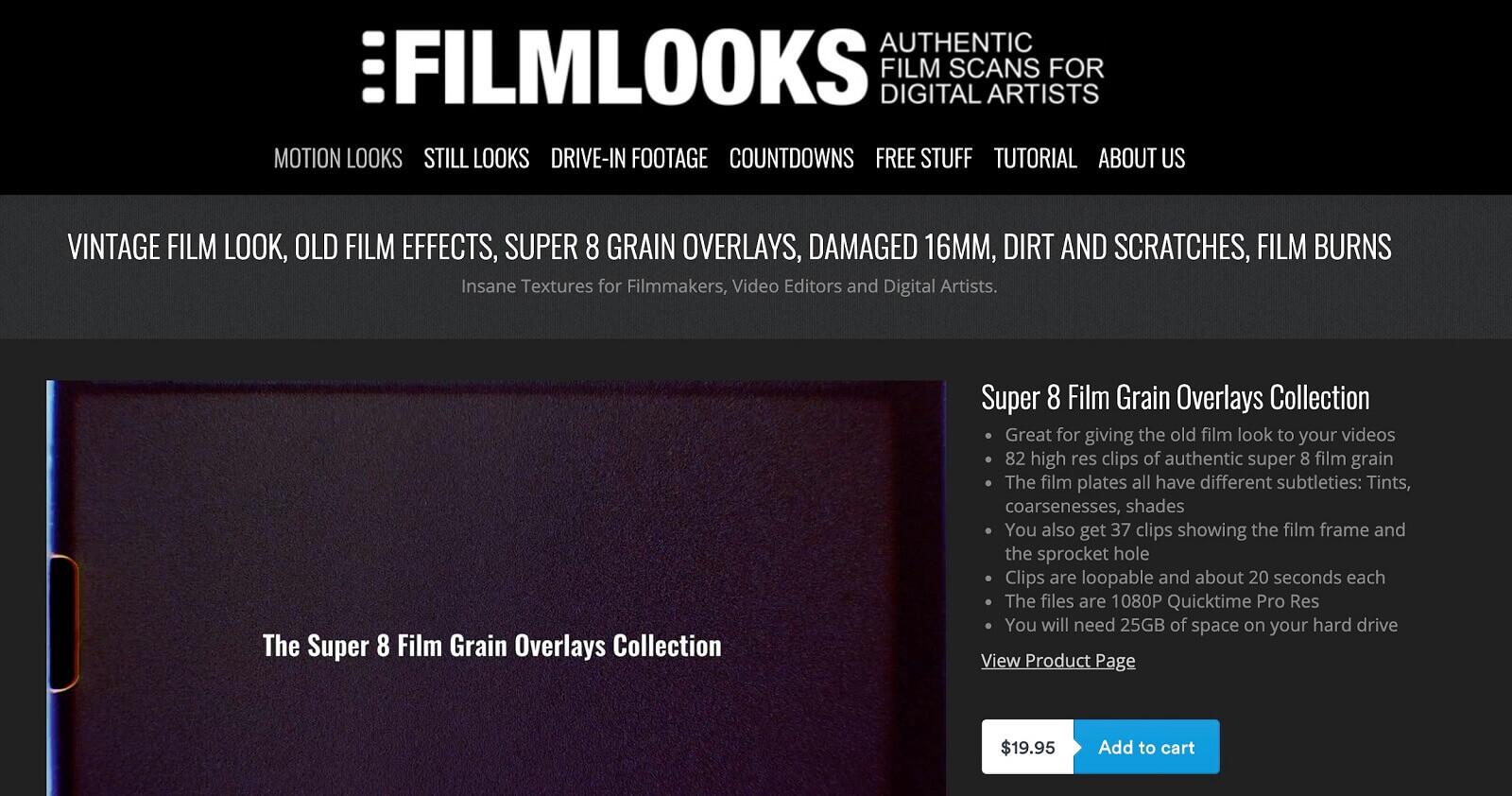 Free Film Grain Overlays - Vintage Film Overlays