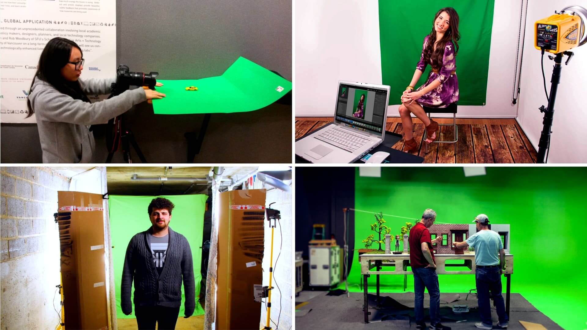 How to Make a Green Screen - DIY Green Screen Hacks - Featured
