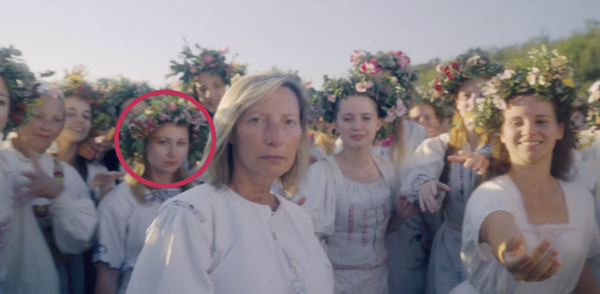 Midsommar Explained - Sister in the Crowd