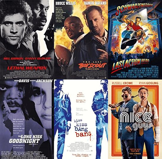 Shane Black Movie - Posters