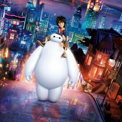 Streaming Post Disney+ - Big Hero 6