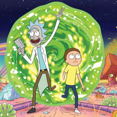 Streaming Post Hulu - Rick And Morty