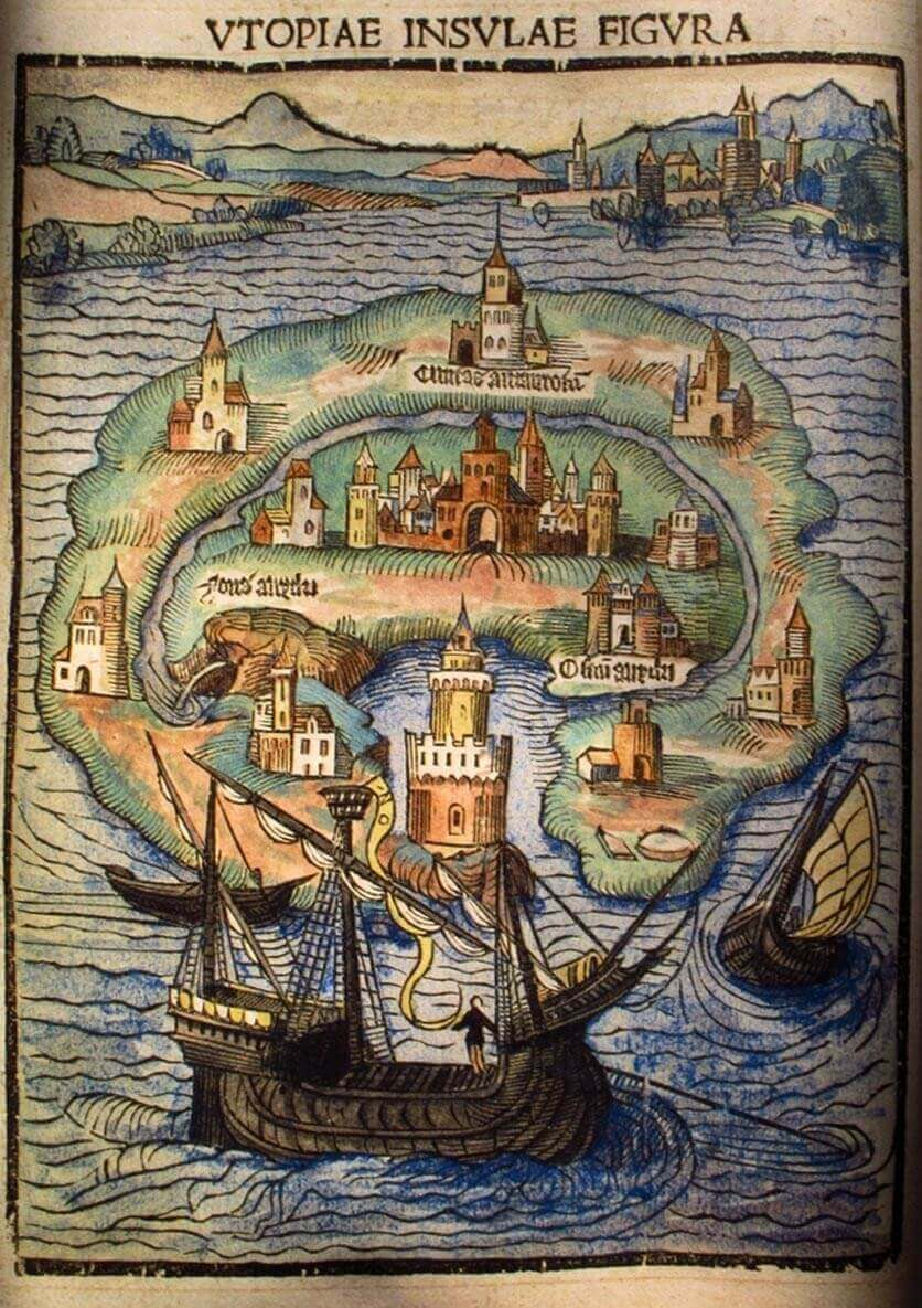 What is Dystopian Fiction - Thomas More's Vision of Utopia