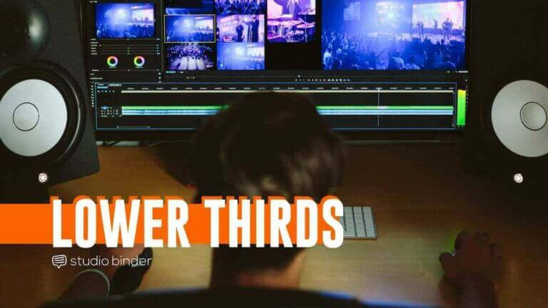 What is a Lower Third - StudioBinder