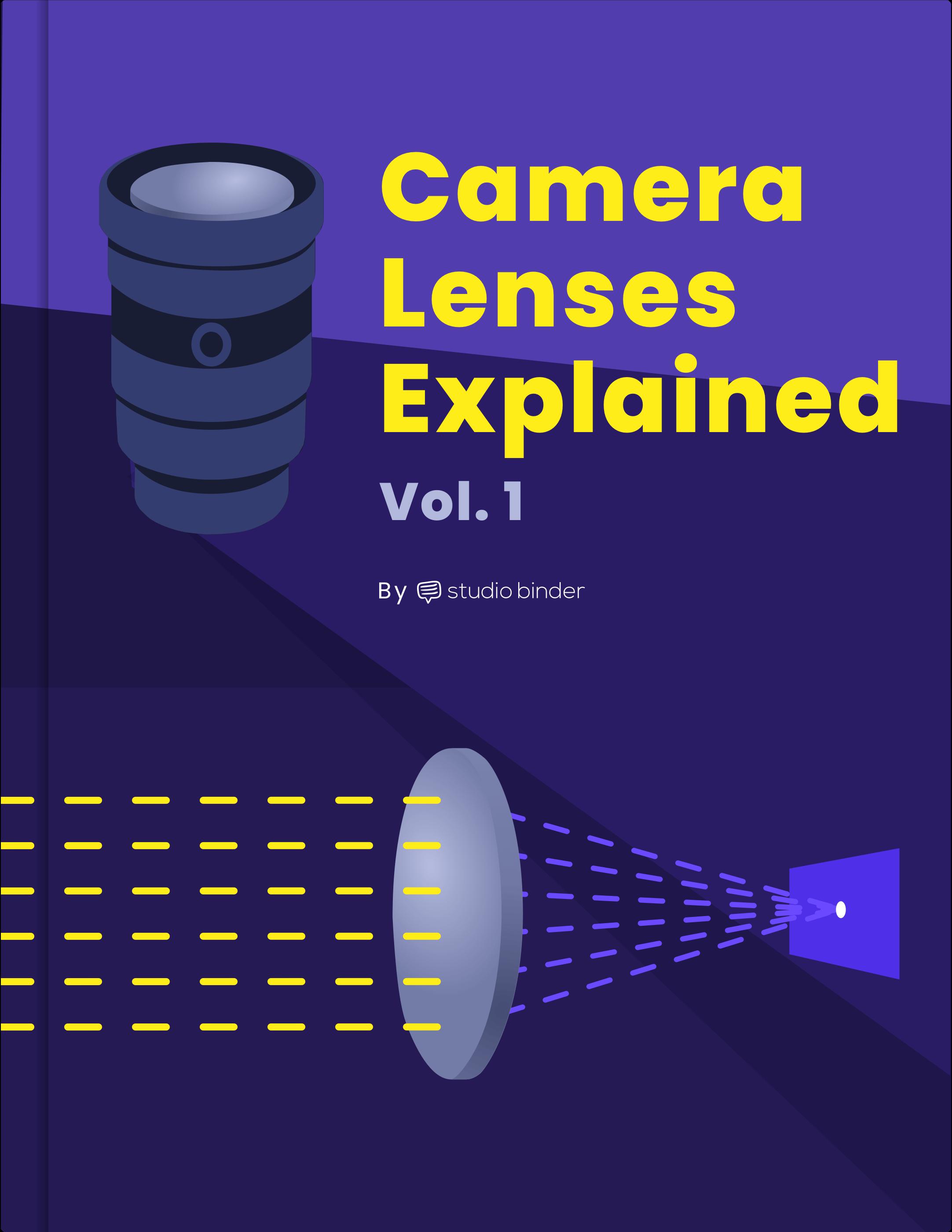 Camera Lenses Explained Ebook - Book Cover