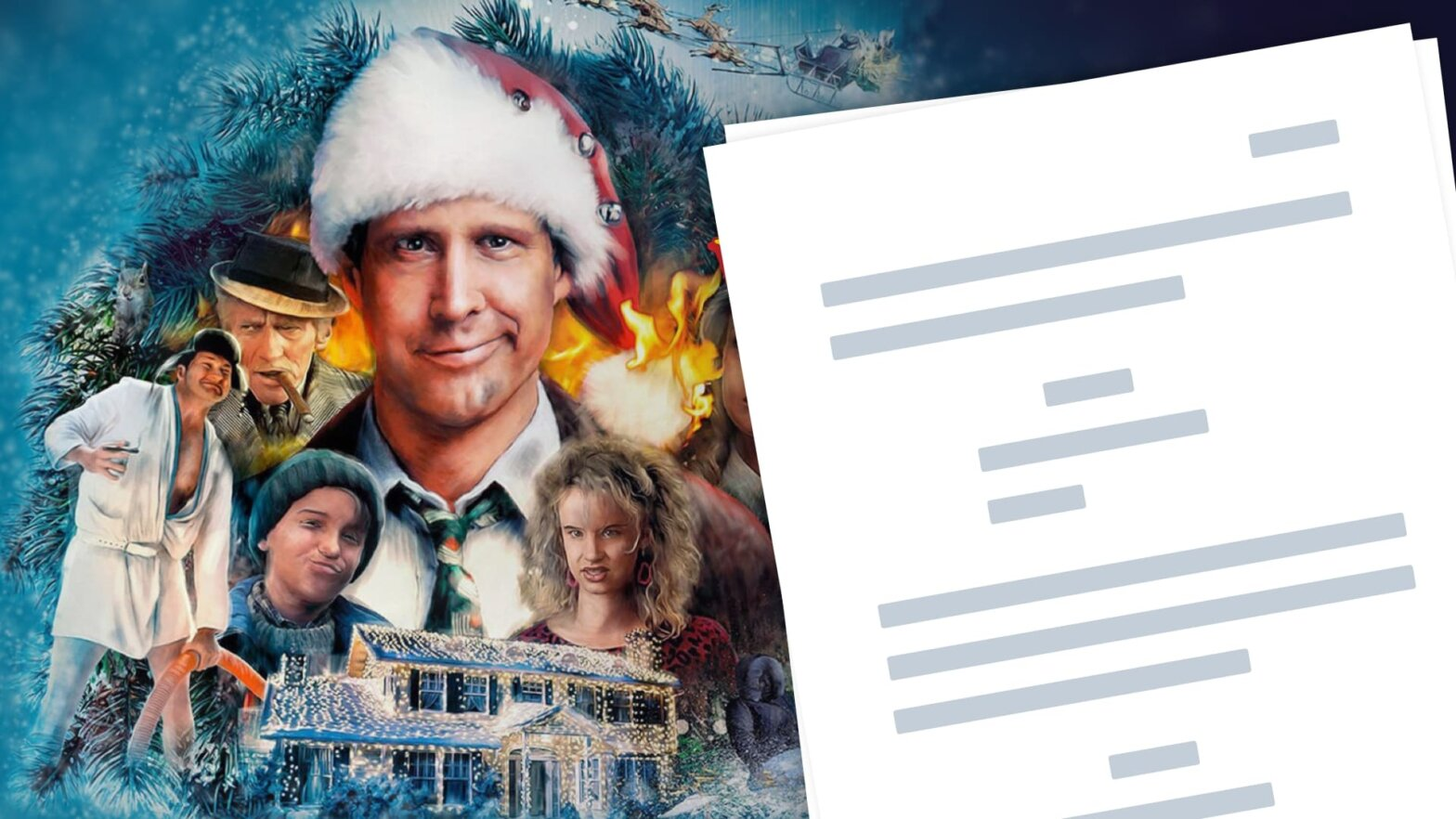 Christmas Vacation Script PDF Download Quotes - Characters - Featured