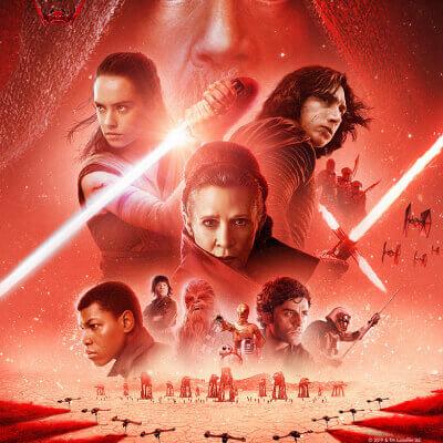 Streaming Post Disney + - Star Wars Episode 8
