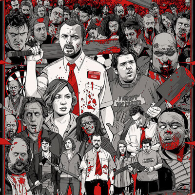 Streaming Post HBO - Shaun of the Dead