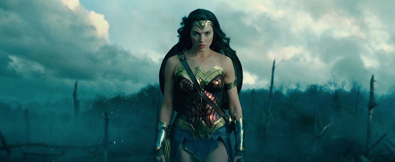 Wonder Woman — Medium long shot example