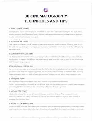 30 Cinematography Techniques and TIps - Exit Intent Full - Page - StudioBinder