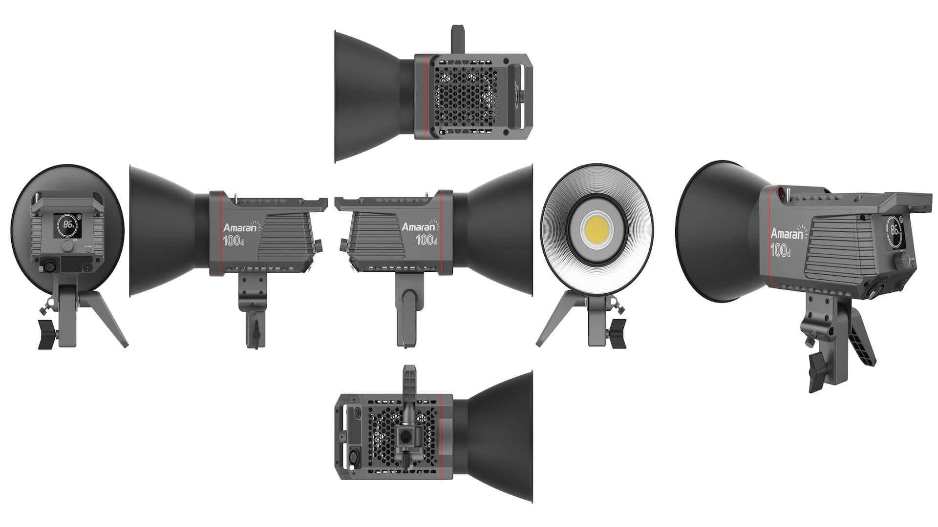 Amaran 100d - 55° Hyper-reflector