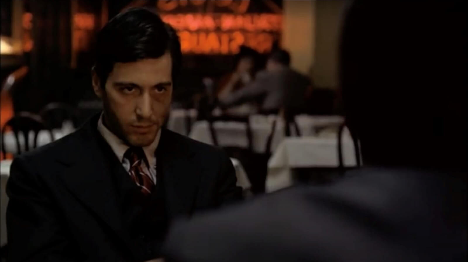 Character Driven Editing in The Godfather - Shot 3 - StudioBinder Shotlisting Software