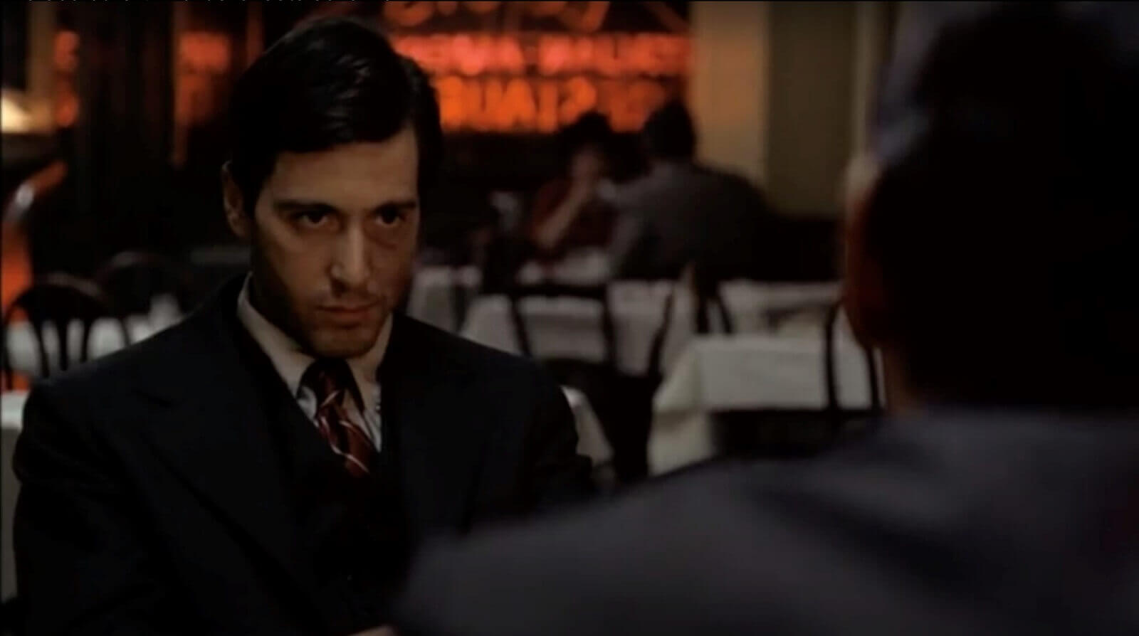 Character Driven Editing in The Godfather - Shot 6 - StudioBinder Shotlisting Software