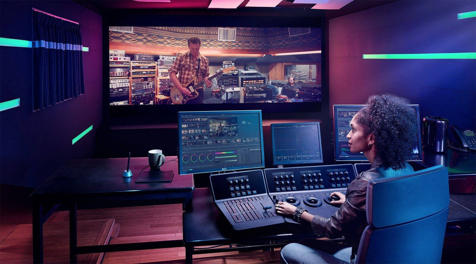How to be a colorist for film — Professional setup