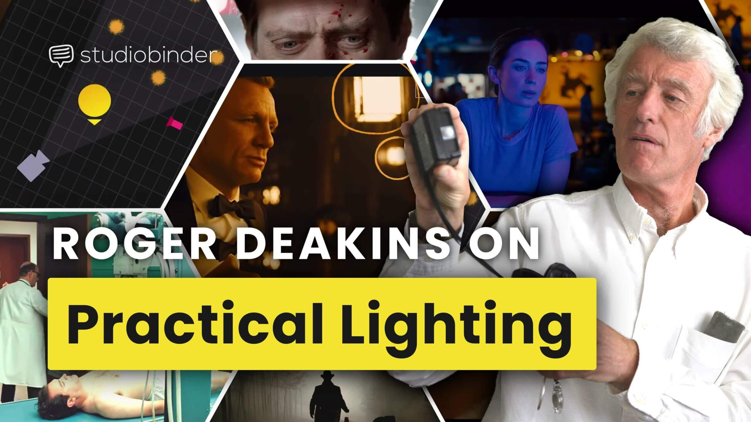 Roger Deakins and the Art of Practical Lighting Techniques — Cinematography Techniques Ep. 3 - YT