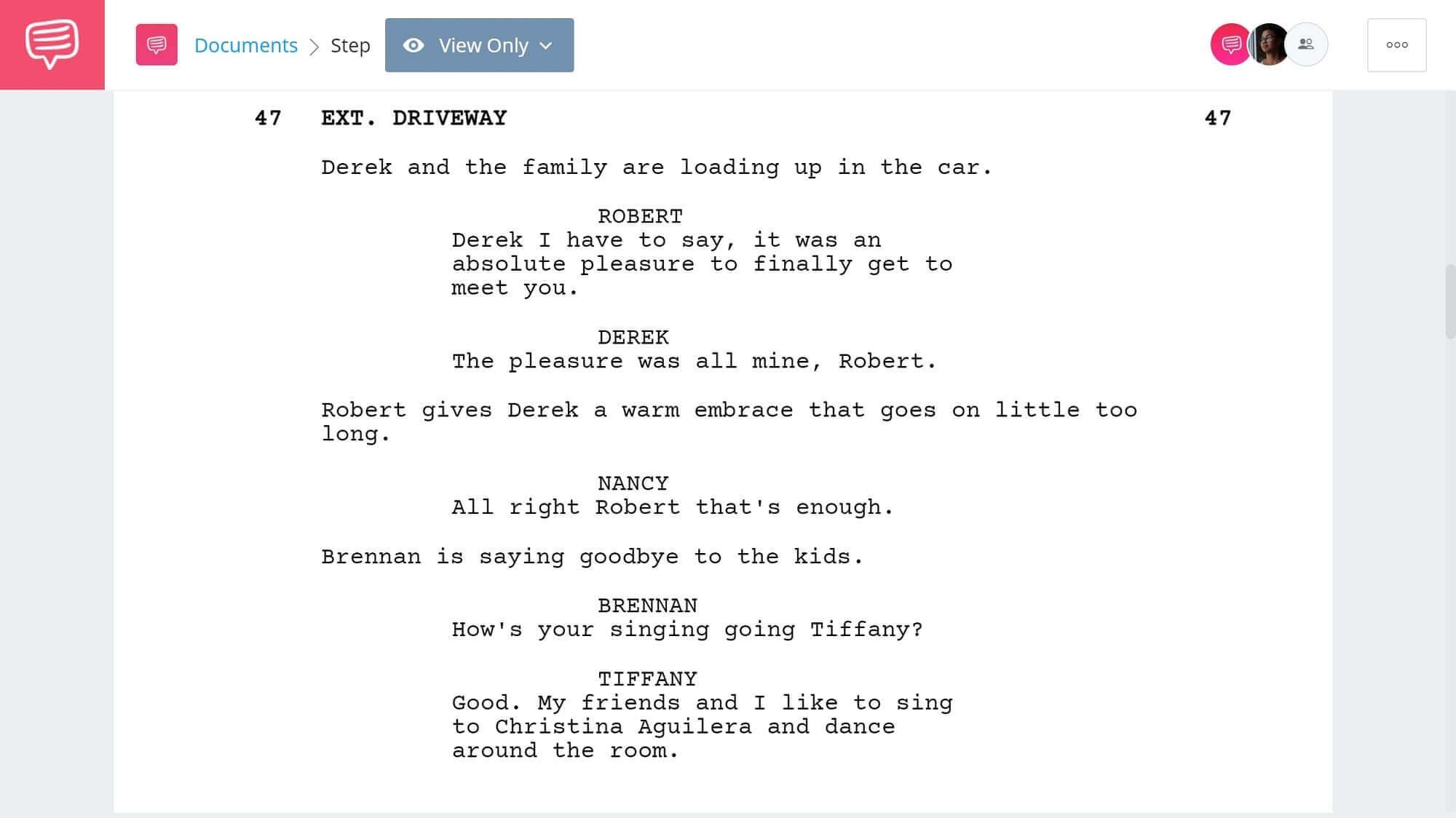 Step Brothers Script Teardown - Treehouse Scene - StudioBinder Screenwriting Software