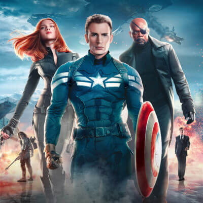 Streaming Post Template - Disney+ - Captain America
