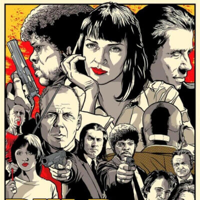 Streaming Post Template HBO - Pulp Fiction