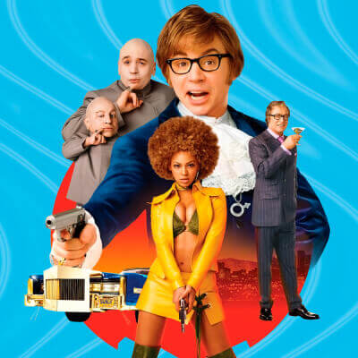 Streaming Post Template Hulu - Austin Powers