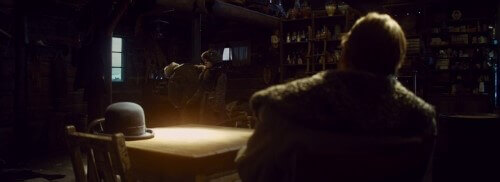 The Hateful Eight rim lighting example