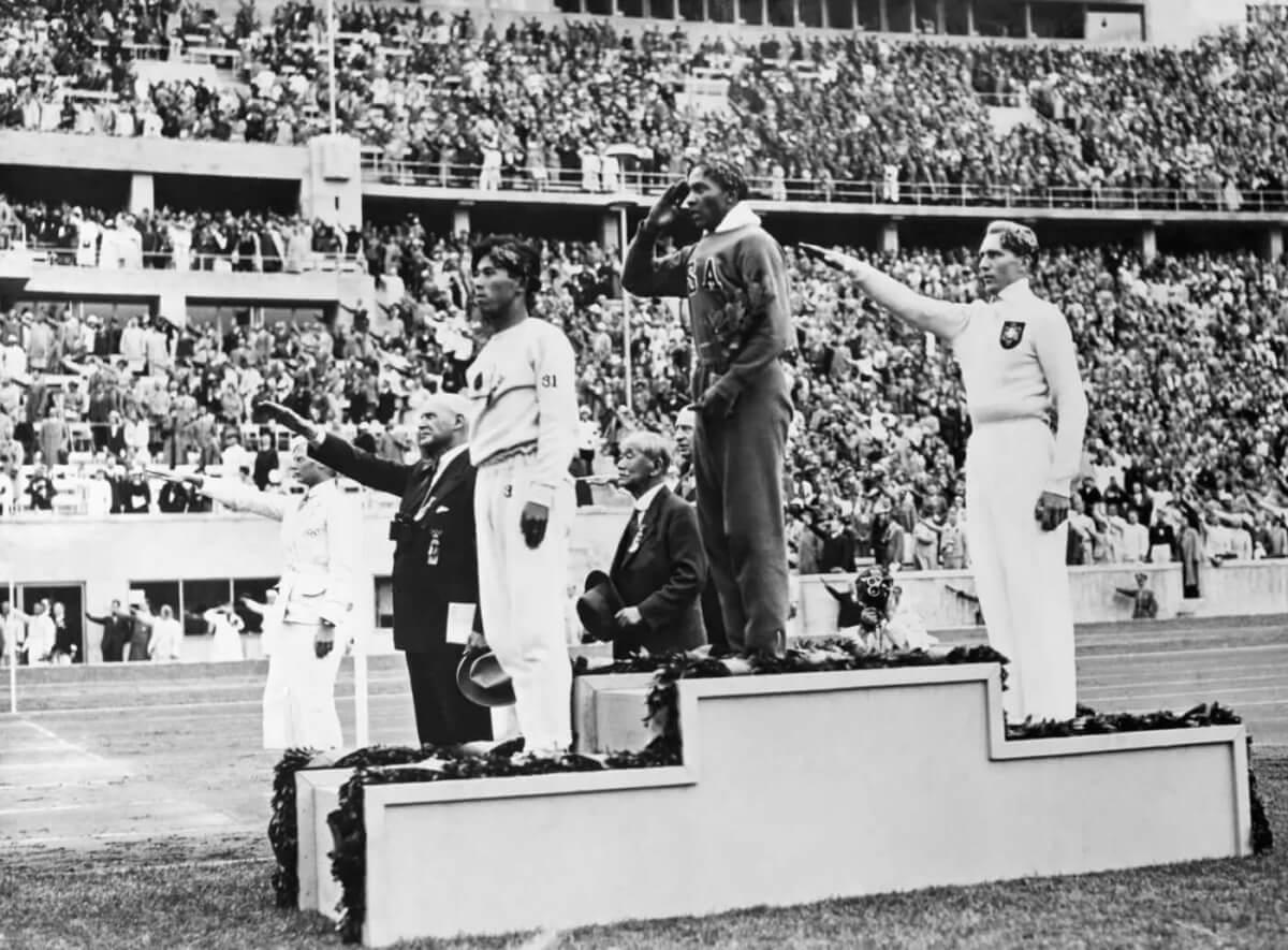 1936 Medal Winners - Bettmann Archive