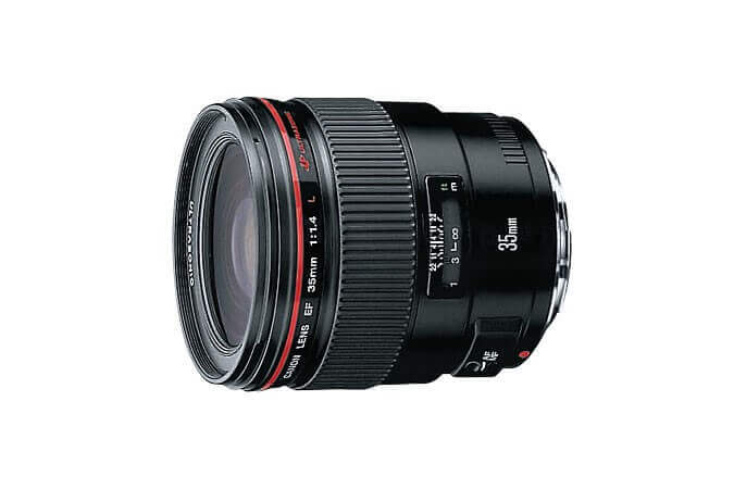 Best Canon Lens for Portraits - Canon 35mm f1.4L USM