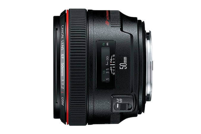 Best Canon Lens for Portraits - EF 50mm f1.2L USM
