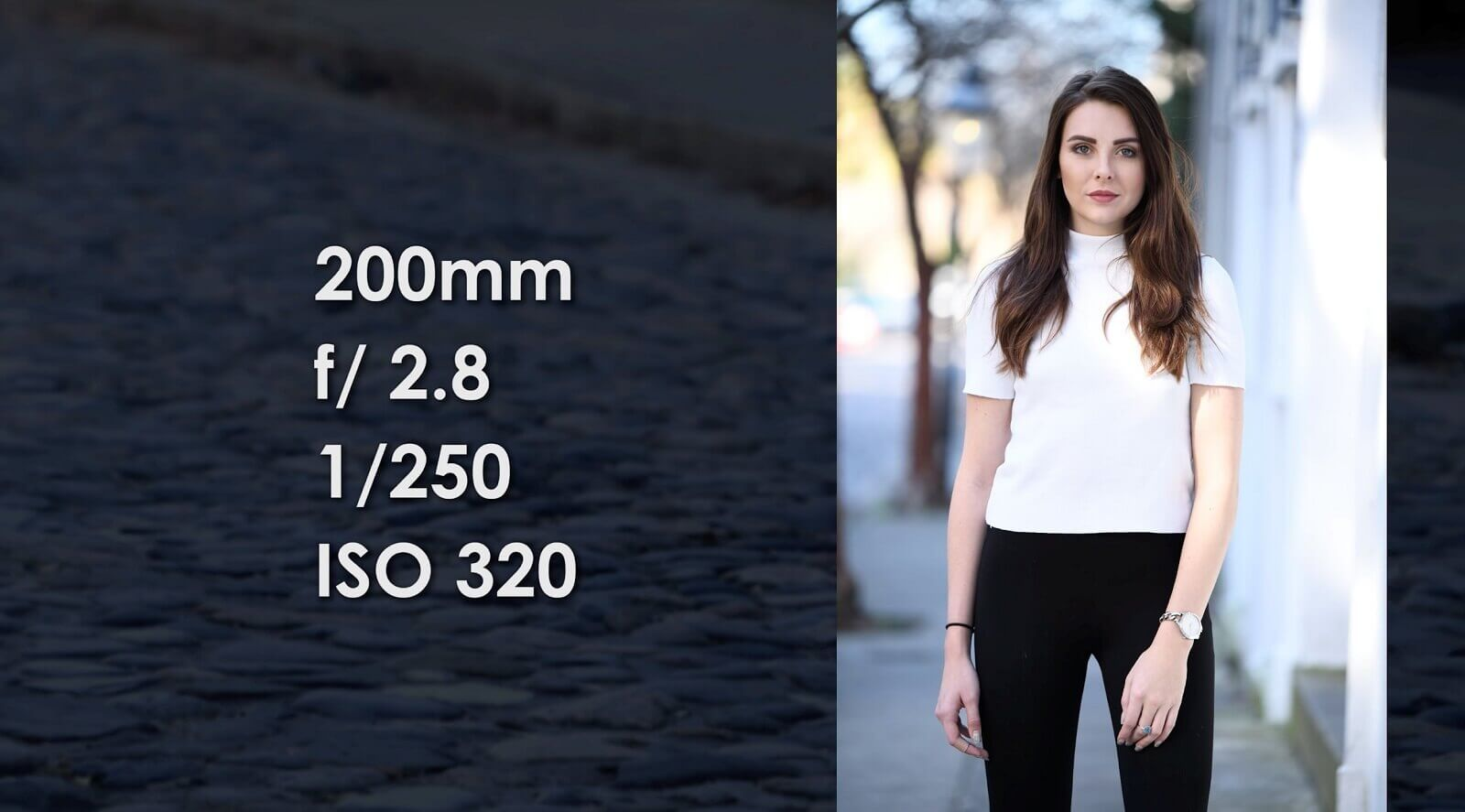 Best Lens for Full Body Portraits - 200mm Portrait Photo by Patrick Hall