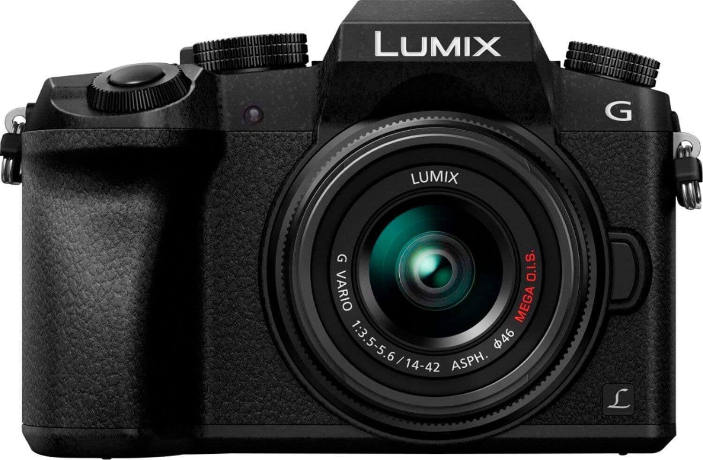 Best Streaming Cameras - Panasonic LUMIX G7
