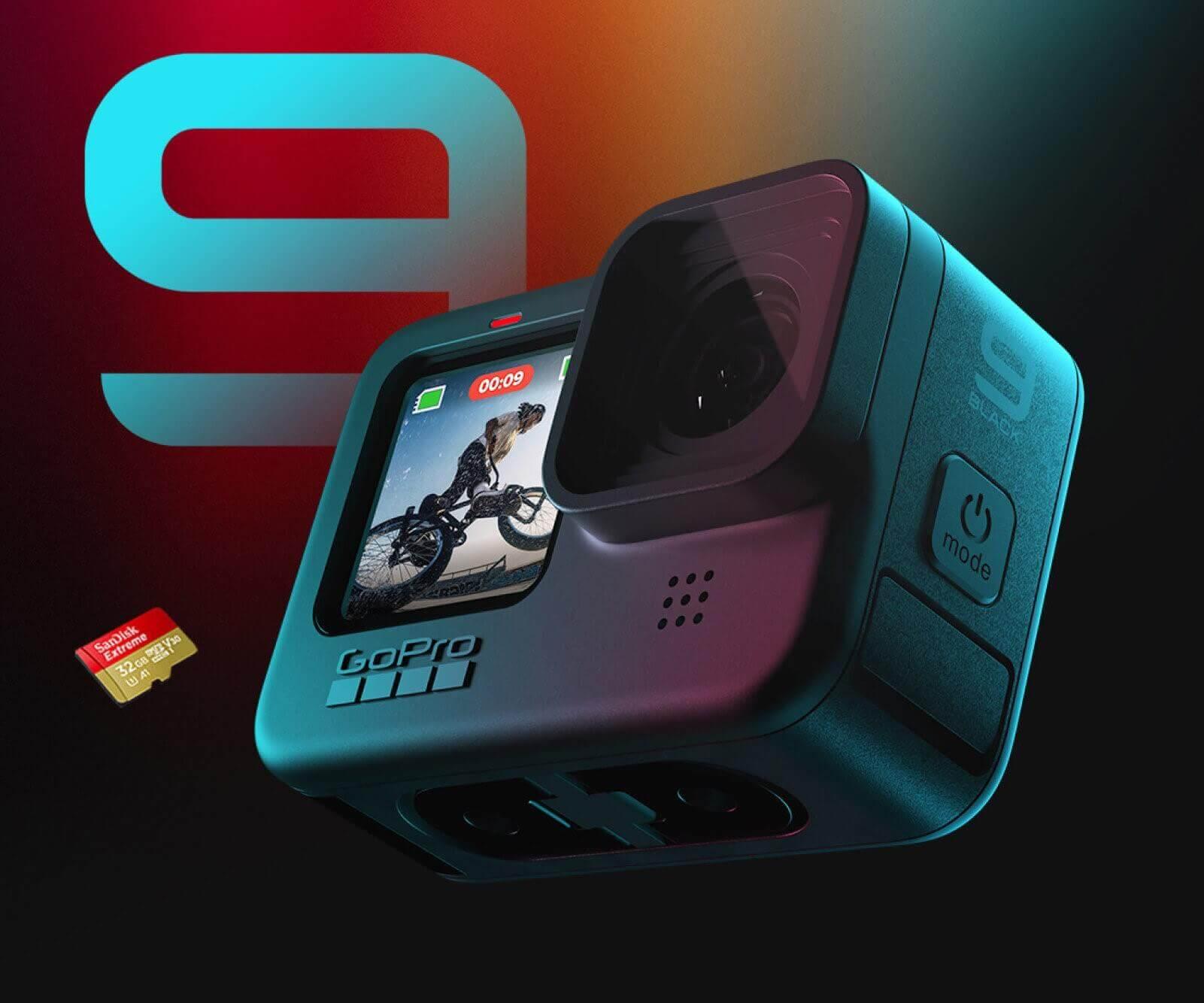 Best Video Cameras for Live Streaming - GoPro HERO9 Black