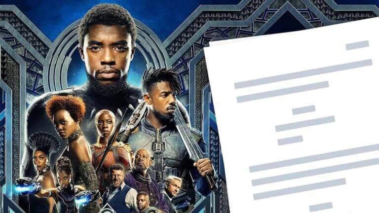 Black Panther Script PDF Download Plot, Quotes, and Analysis - StudioBinder