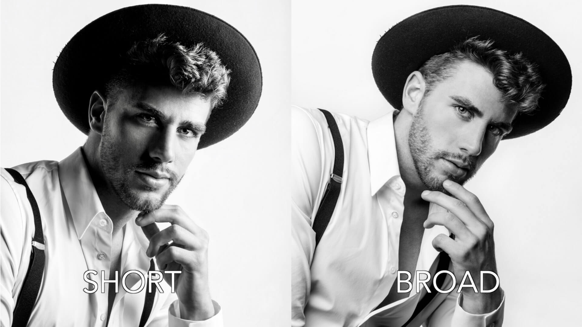 Broad vs Short lighting — Photography shot lists