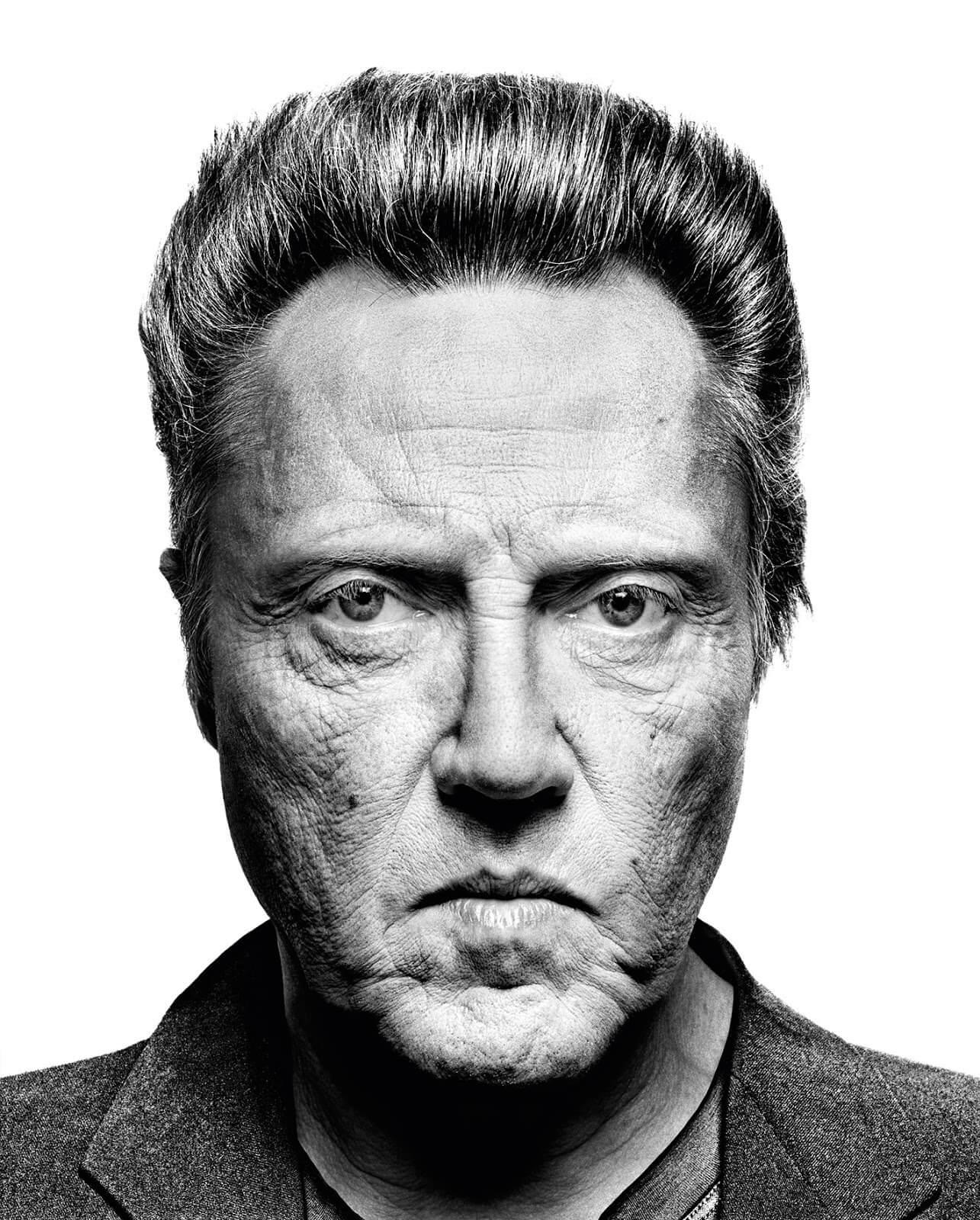 Christopher Walken portrait by Platon