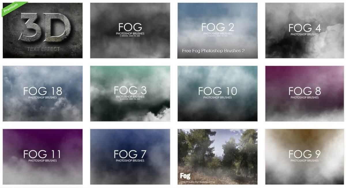 Fog Overlay Template Bundle