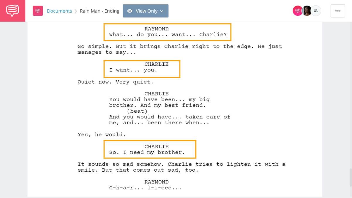 How to End A Story - Rain Man Ending - StudioBinder Screenwriting Software