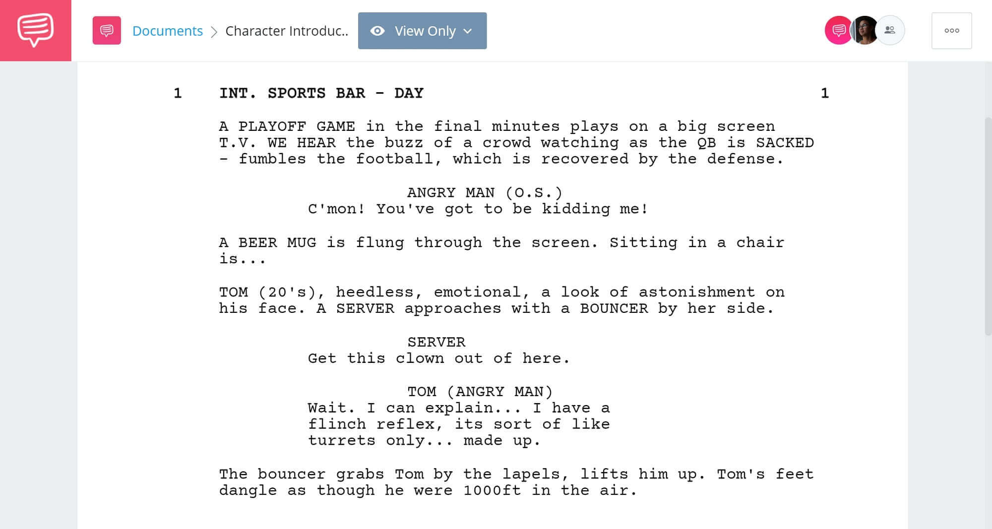 How to Introduce Characters Alias Extensions - StudioBinder Screenwriting Software