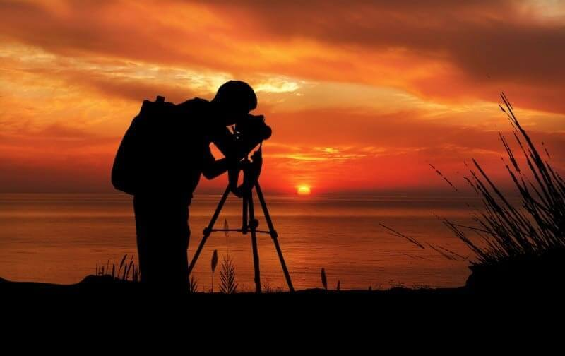 How to take sunset photos with a tripod