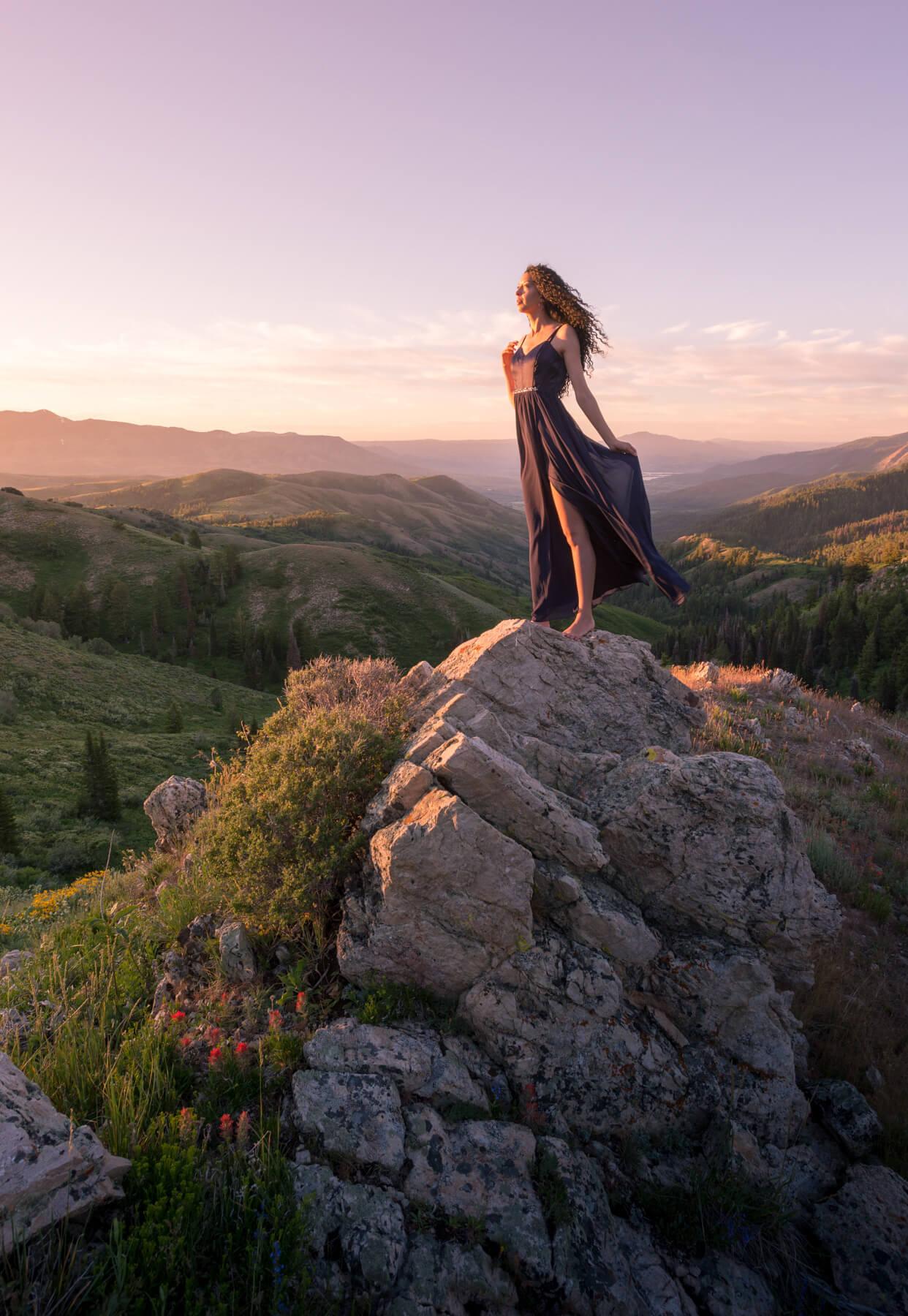 Landscape portrait photography shot list
