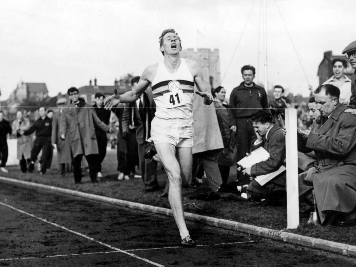 Sports Photography Camera Strategies - Sir Roger Bannister Completes a Sub-Four Minute Mile - Getty Images