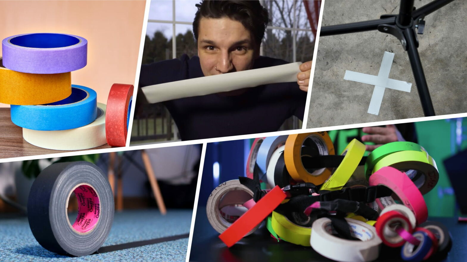 What Is Gaffer Tape Used For A Film Set Essential Explained - Featured