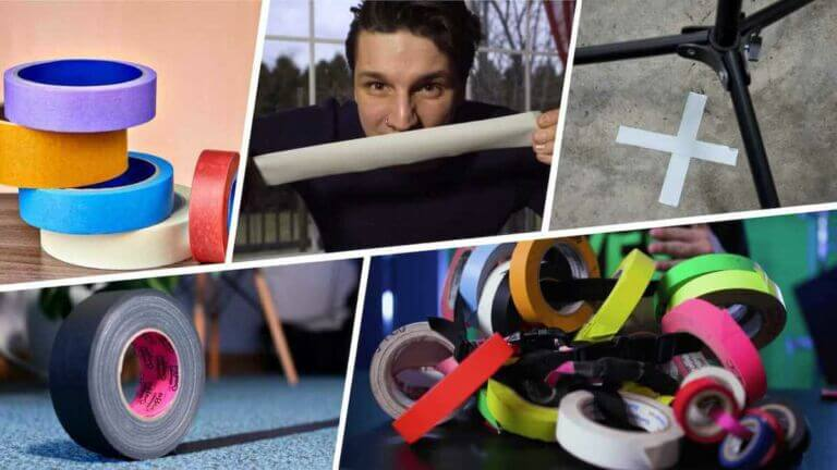 What Is Gaffer Tape Used For A Film Set Essential Explained - StudioBinder