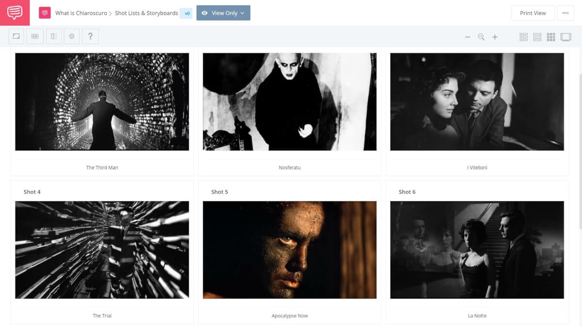 What is Chiaroscuro - Various Chiaroscuro Examples from Different Films - StudioBinder Shot Listing Software